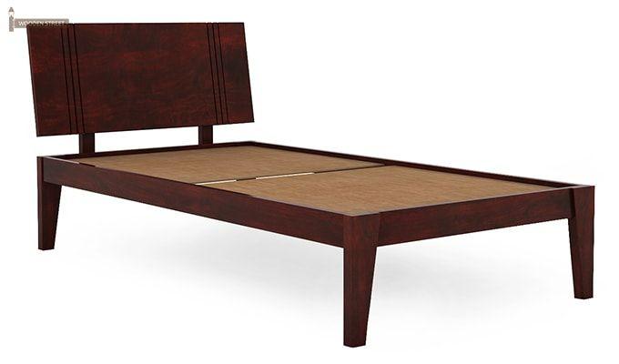 Fyodor Trundle Bed (Mahogany Finish)-9