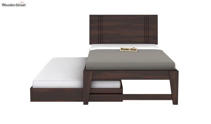 Fyodor Trundle Bed (Walnut Finish)-6