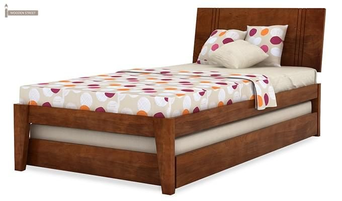 Fyodor Trundle Bed (Teak Finish)-8