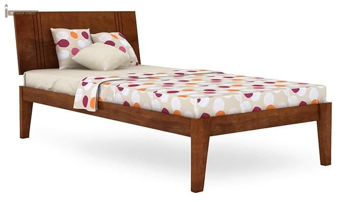 Fyodor Trundle Bed (Teak Finish)-10