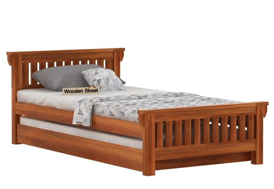 wooden truckle bed online