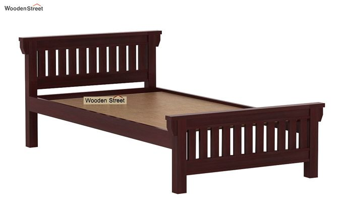 Kendra Trundle Bed (Mahogany Finish)-6