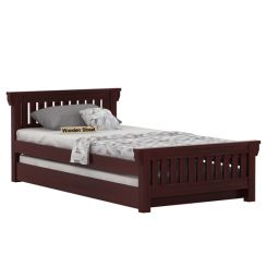 Kendra Trundle Bed (Mahogany Finish)