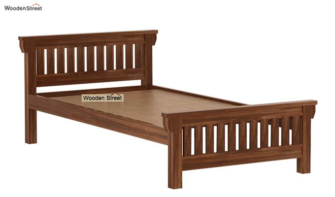Kendra Trundle Bed (Teak Finish)-6