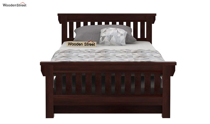 Kendra Trundle Bed (Walnut Finish)-3