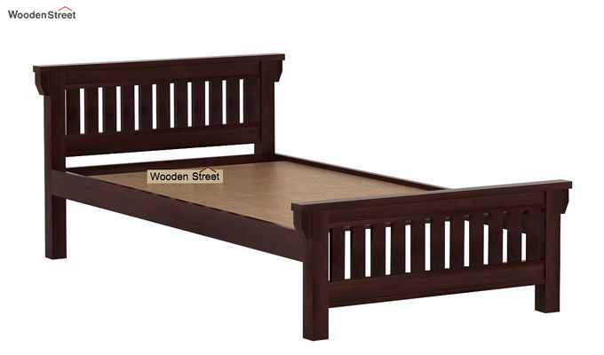 Kendra Trundle Bed (Walnut Finish)-7