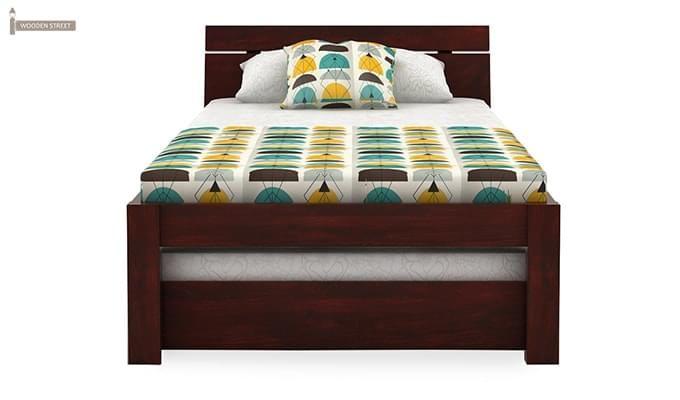 Morenz Trundle Bed (Mahogany Finish)-4