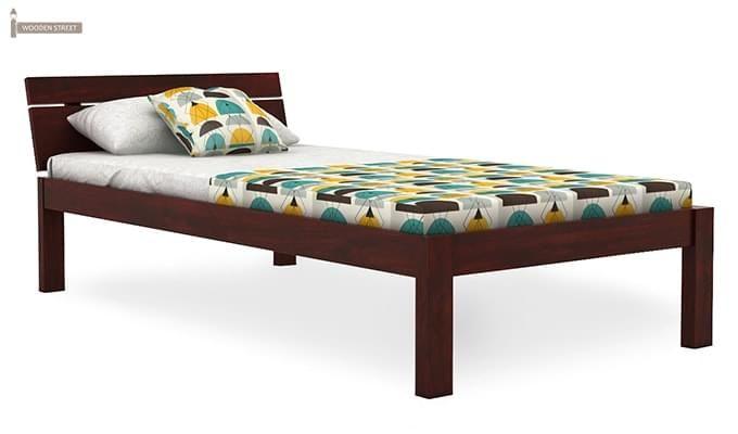 Morenz Trundle Bed (Mahogany Finish)-6
