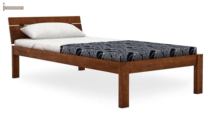 Morenz Trundle Bed (Teak Finish)-6