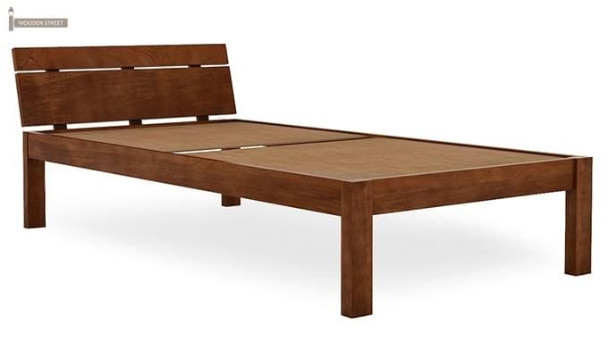 Morenz Trundle Bed (Teak Finish)-7