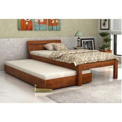 Morenz Trundle Bed (Teak Finish)