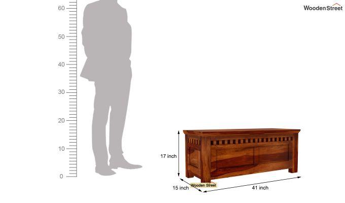 Adolph Trunk Box  (Honey Finish)-6