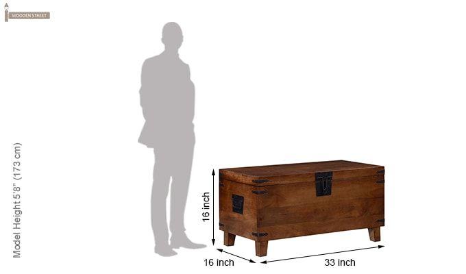 Darbus Trunk Box (Teak Finish)-10