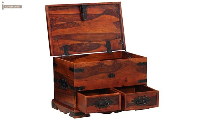 Dyce Trunk Box (Honey Finish)-4
