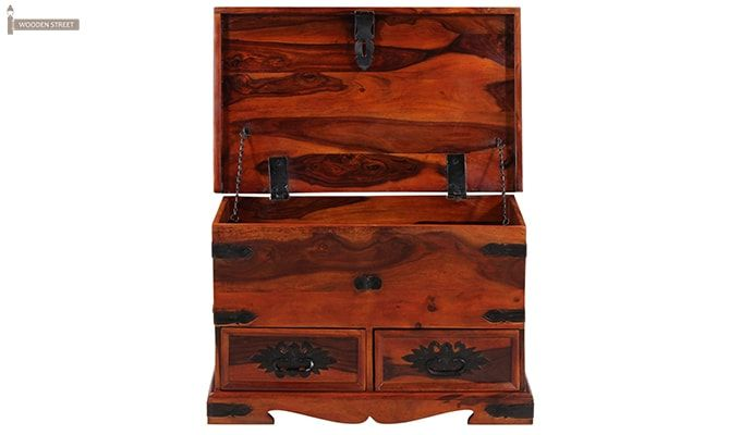 Dyce Trunk Box (Honey Finish)-5
