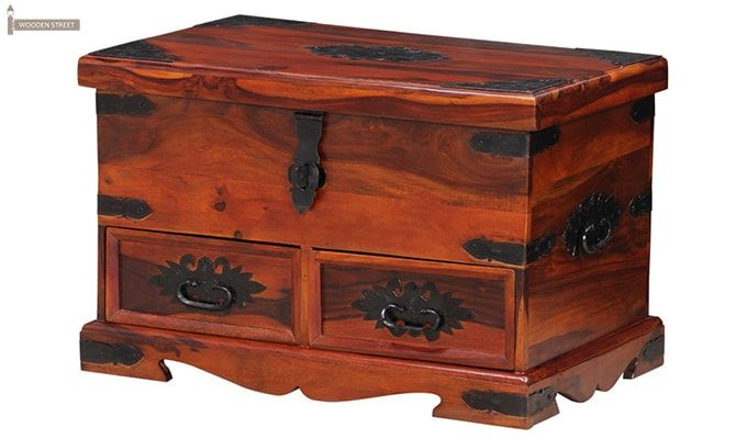 Dyce Trunk Box (Honey Finish)-3