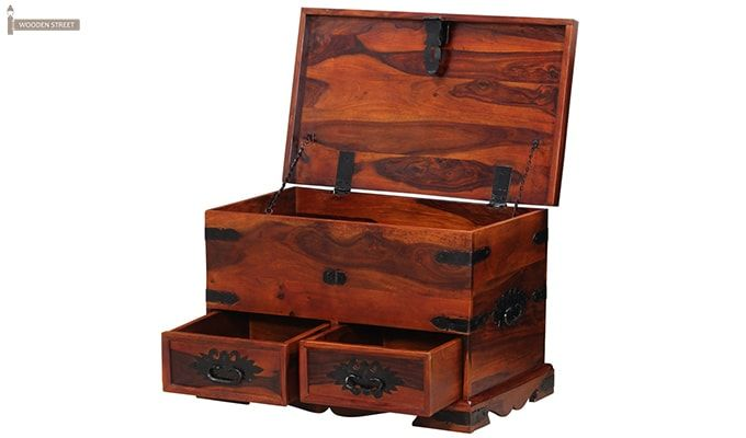 Dyce Trunk Box (Honey Finish)-6