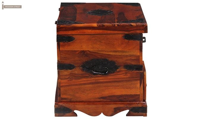 Dyce Trunk Box (Honey Finish)-7
