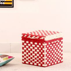 Gopher Woven Trunk Box (Red)