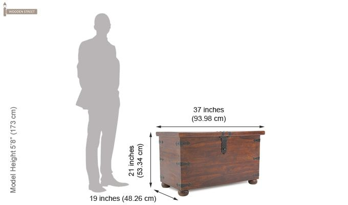 Martius Blanket Box (Honey Finish)-11