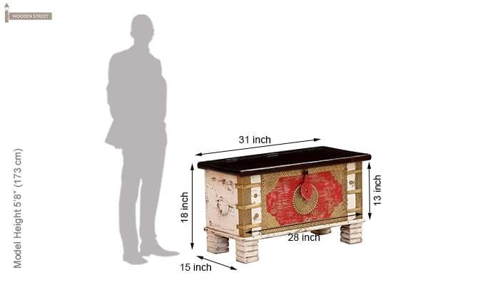 Danny Trunk Box (Mahogany Finish)-8