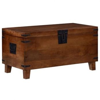 Custom Wooden Trunk and Blanket Box