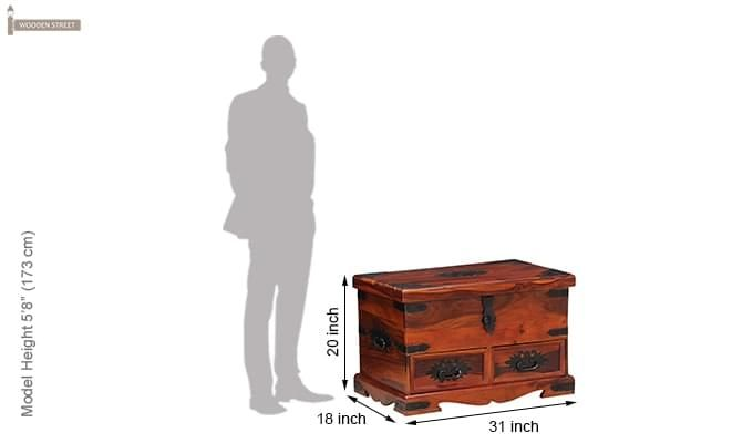 Dyce Trunk Box (Honey Finish)-9