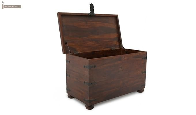 Martius Blanket Box (Honey Finish)-6
