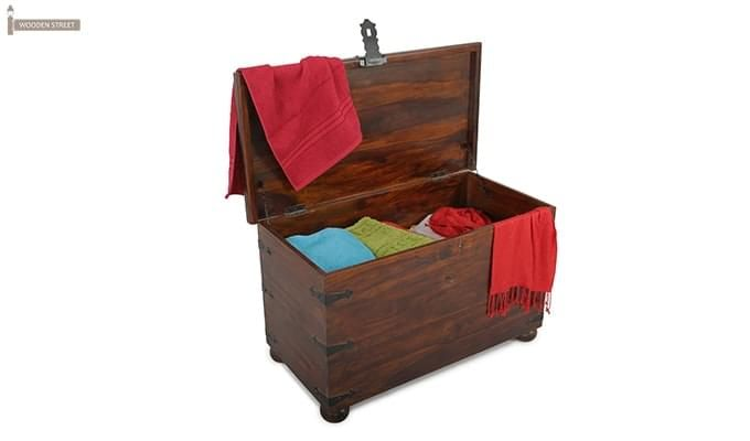Martius Blanket Box (Honey Finish)-7