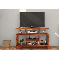 Alfre Tv Unit (Honey Finish)