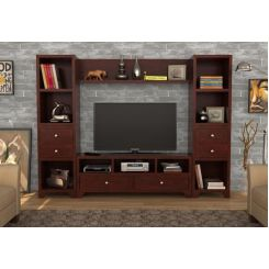 Chappell Tv Unit (Mahogany Finish)