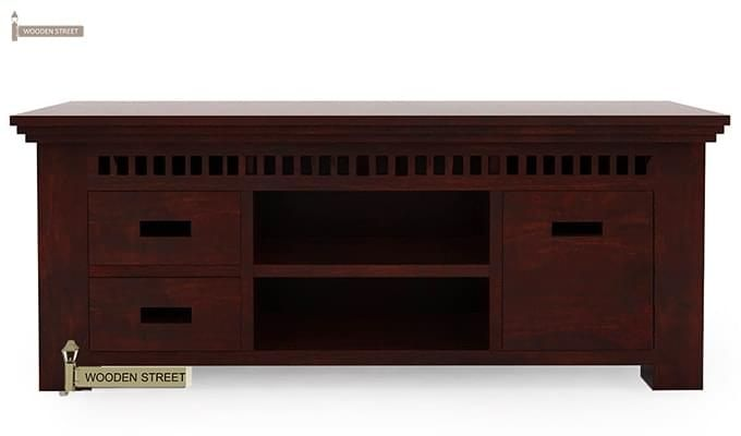 Adolph Tv Unit (Mahogany Finish)-4