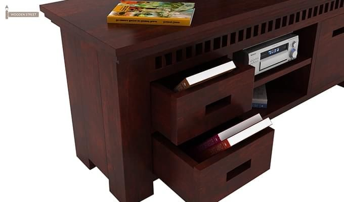 Adolph Tv Unit (Mahogany Finish)-3