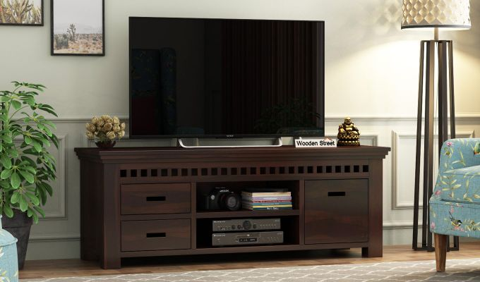 Adolph Tv Unit (Walnut Finish)-1