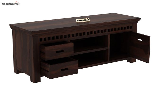 Adolph Tv Unit (Walnut Finish)-4