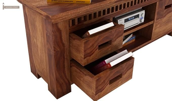 Adolph Tv Unit (Teak Finish)-4