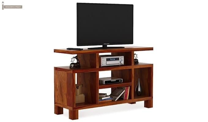 Alfre Tv Unit (Honey Finish)-2