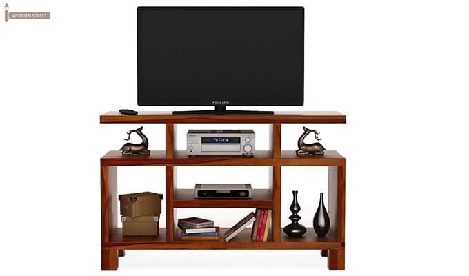 Alfre Tv Unit (Honey Finish)-3