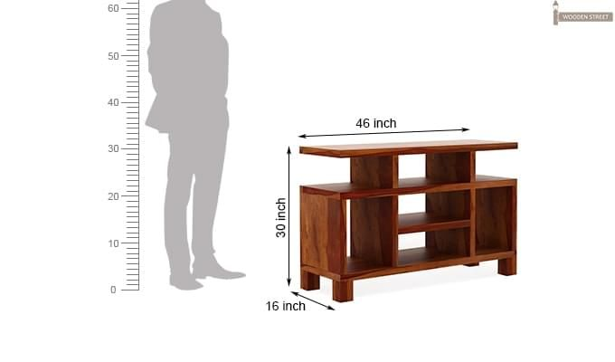 Alfre Tv Unit (Honey Finish)-6