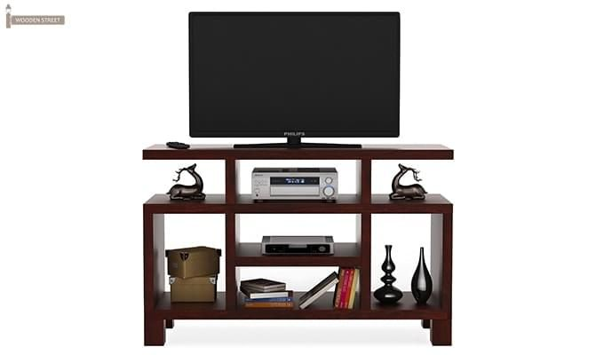 Alfre Tv Unit (Mahogany Finish)-3