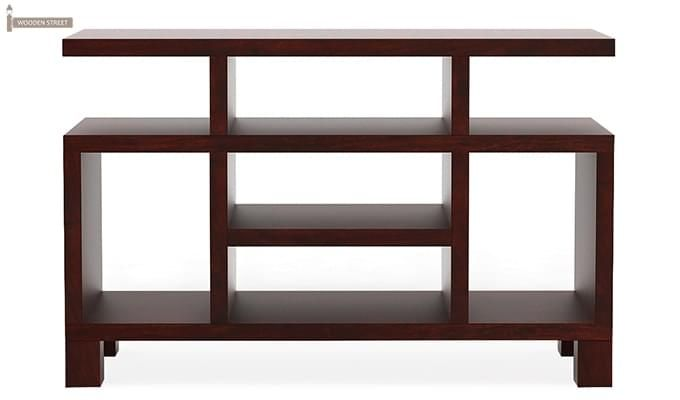 Alfre Tv Unit (Mahogany Finish)-4