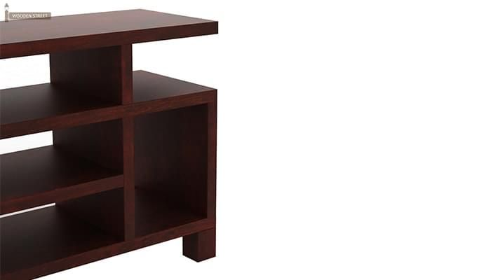 Alfre Tv Unit (Mahogany Finish)-5