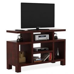 Alfre Tv Unit (Mahogany Finish)