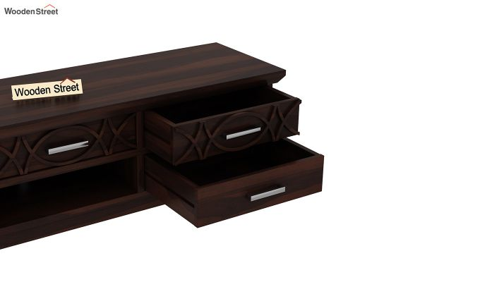 Allan Tv Unit (Walnut Finish)-5