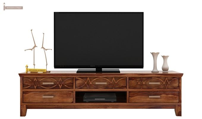 Allan Tv Unit (Teak Finish)-2