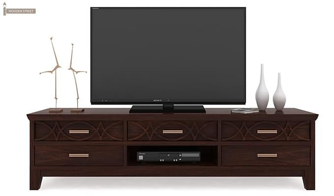 Allan Tv Unit (Walnut Finish)-3