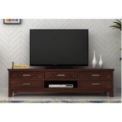 Allan Tv Unit (Walnut Finish)