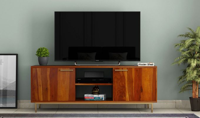 Alto Tv Unit (Honey Finish)-2