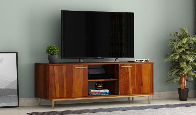 Alto Tv Unit (Honey Finish)-1