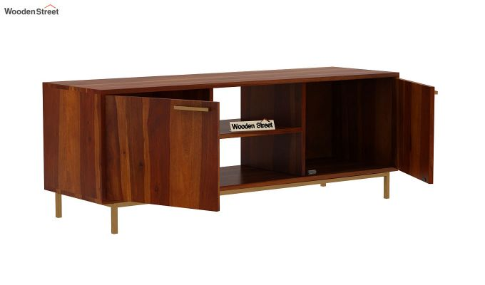 Alto Tv Unit (Honey Finish)-5